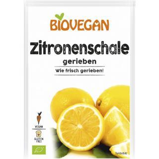Zitronenschale gerieben