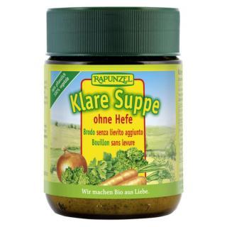 Klare Suppe ohne Hefe