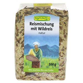 Reismischung mit Wildreis