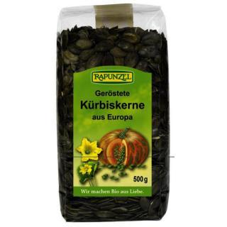 Bio Kürbiskerne geröstet 500 g