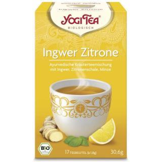 Yogi Tee Ingwer-Zitrone 17 Btl