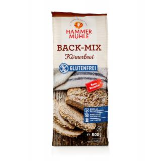 Back-Mix Körnerbrot glutenfrei