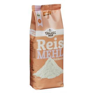 Reis-Vollkorn Mehl glutenfrei