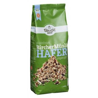Bircher Müsli, glutenfrei