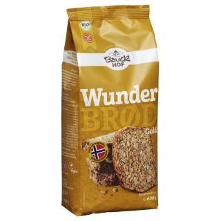 Wunderbrod Gold Bio glutenfrei 600 g