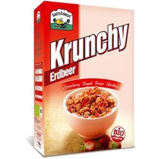 Krunchy Erdbeer 700g