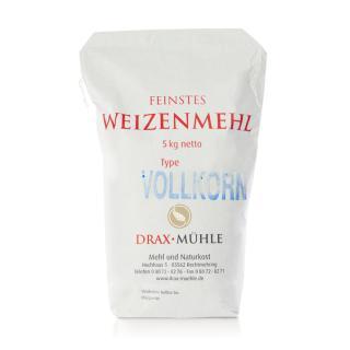 Weizenmehl Vollkorn * 5 kg