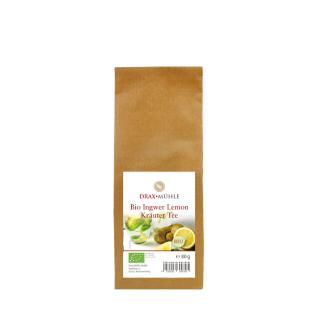 Bio Ingwer Lemon Kräutertee 80 g