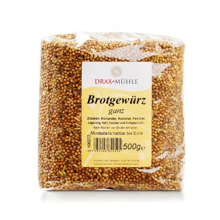 Brotgewürz ganz * 500 g