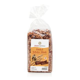 Schoko-Dinkelmüsli