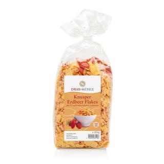 Knusper Erdbeer-Flakes