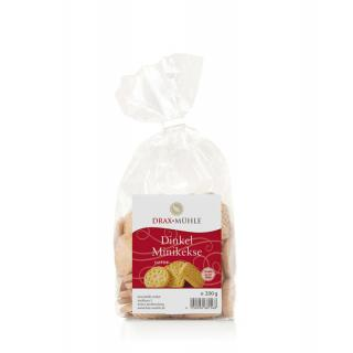 Dinkel-Mini-Kekse natur