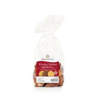Vollmilch Dinkel Mini Kekse