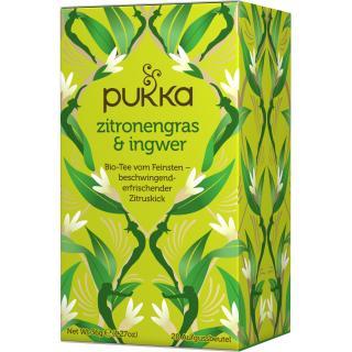 PUKKA Zitronengras & Ingwer Tee 20 Btl