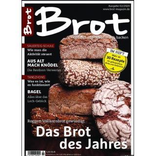 """Brot Magazin 2/20 """" Das Brot des Jahres"""""""