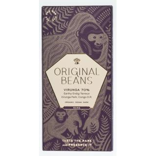 Org. Beans - Cru Virunga 70% Schokolade   70 g
