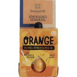 Orange ätherisches Backöl